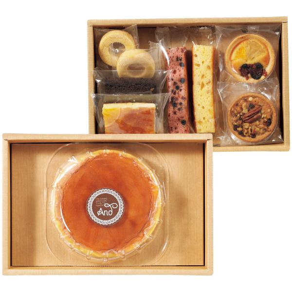 【送料無料】アンド 名入れふわふわチーズケーキセットD たまひよSHOP・たまひよの内祝い