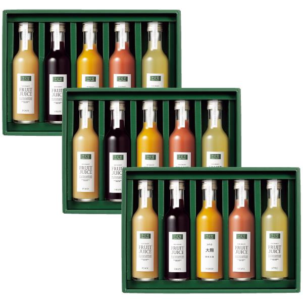 【送料無料】千疋屋 名入れフルーツジュース飲み比べ15本セット たまひよSHOP・たまひよの内祝い