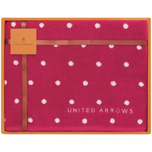 【送料無料】ユナイテッドアローズ UAスモールドット バスタオル ピンク たまひよSHOP・たまひよの内祝い