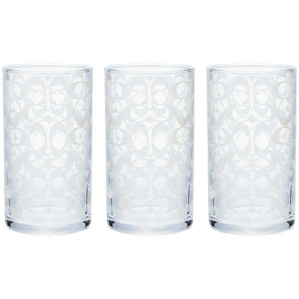 【送料無料】COACH グラス3個セット たまひよSHOP・たまひよの内祝い