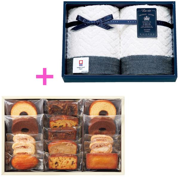 【送料無料】パティスリー キハチ 焼菓子詰合せAと今治タオルA たまひよSHOP・たまひよの内祝い
