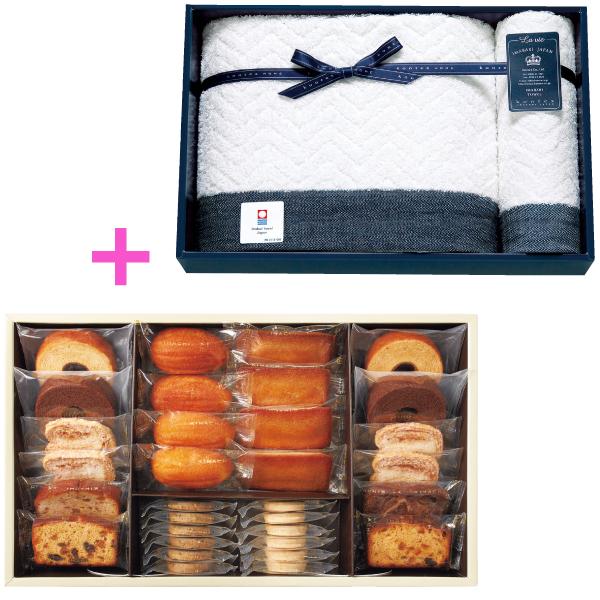 【送料無料】パティスリー キハチ 焼菓子詰合せBと今治タオルB たまひよSHOP・たまひよの内祝い