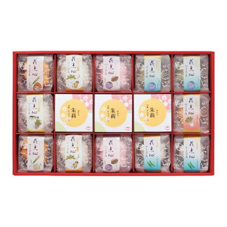 【送料無料】京都・辻が花 名入れ京野菜お吸い物・お茶漬け詰合せD たまひよSHOP・たまひよの内祝い