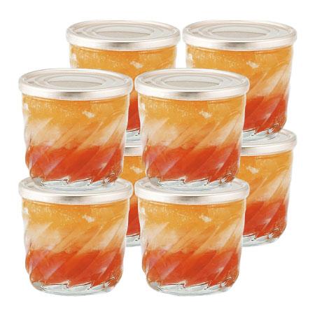 【送料無料】オステリア サクラ グレープフルーツ&オレンジゼリー8個入 たまひよSHOP・たまひよの内祝い