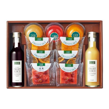 【送料無料】千疋屋 名入れカットフルーツケーキセットB たまひよSHOP・たまひよの内祝い