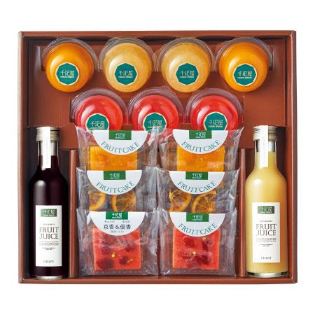 【送料無料】千疋屋 名入れカットフルーツケーキセットC たまひよSHOP・たまひよの内祝い
