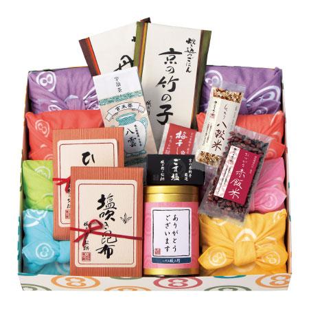 【送料無料】京都 八代目儀兵衛 ありがとうお米ギフト ガーゼC たまひよSHOP・たまひよの内祝い