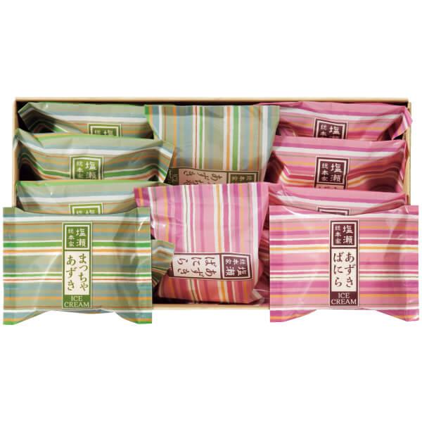 【送料無料】塩瀬総本家 最中アイス12個入り たまひよSHOP・たまひよの内祝い