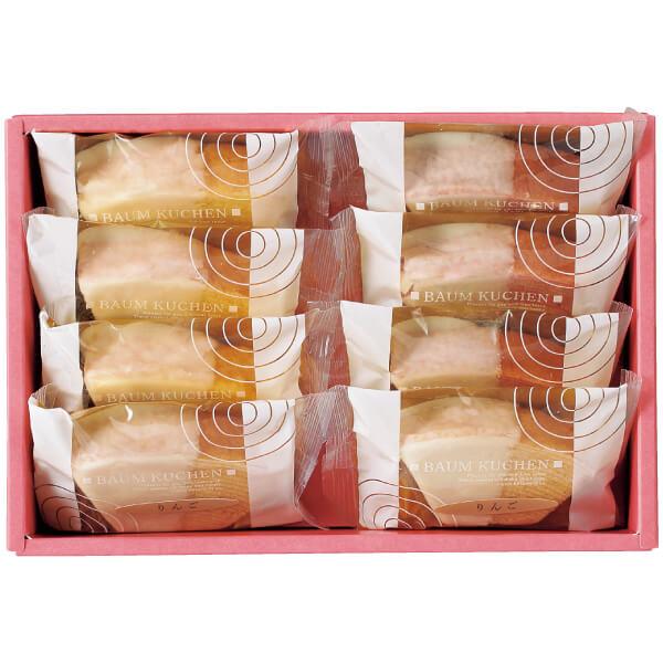 【送料無料】フクフル ホワイトチョコ掛け小分けバウム8個入り(シェフ坂井宏行監修) 名入れカード無し たまひよSHOP・たまひよの内祝い