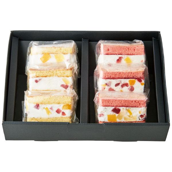 【送料無料】【期間限定】フクフル フローズンフルーツケーキ 6個 名入れカード無し たまひよSHOP・たまひよの内祝い