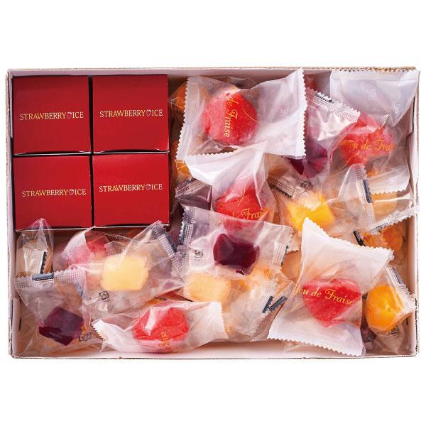 【送料無料】【期間限定】苺の花畑&苺アイスとひとくちジェラートセット たまひよSHOP・たまひよの内祝い