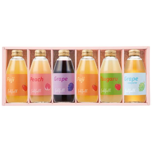 たまひよSHOP【送料無料】【期間限定】フクフル 季節の長野産100%ジュース 6本 たまひよSHOP・たまひよの内祝い