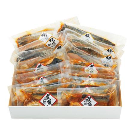 【送料無料】大阪・活黒 簡単便利煮魚・焼魚詰合せC たまひよSHOP・たまひよの内祝い