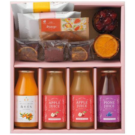 【送料無料】ホシフルーツ 焼菓子&果汁飲料セットB たまひよSHOP・たまひよの内祝い