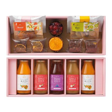 【送料無料】ホシフルーツ 焼菓子&果汁飲料セットC たまひよSHOP・たまひよの内祝い
