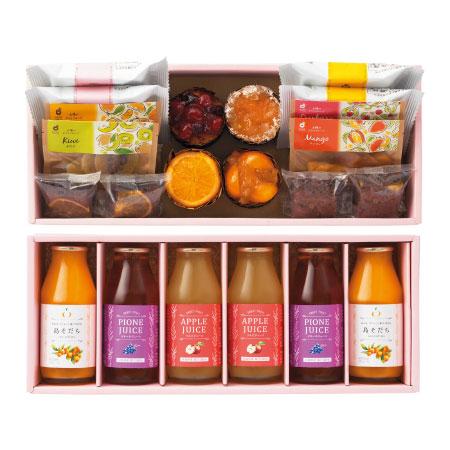 【送料無料】ホシフルーツ 焼菓子&果汁飲料セットD たまひよSHOP・たまひよの内祝い