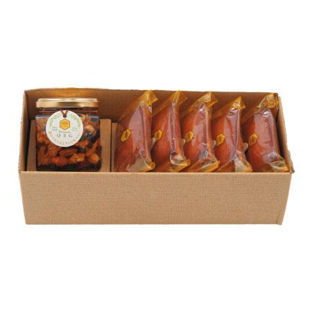 【送料無料】パティスリーQBG 森のぐだくさんナッツのはちみつ漬け&フィナンシェA たまひよSHOP・たまひよの内祝い