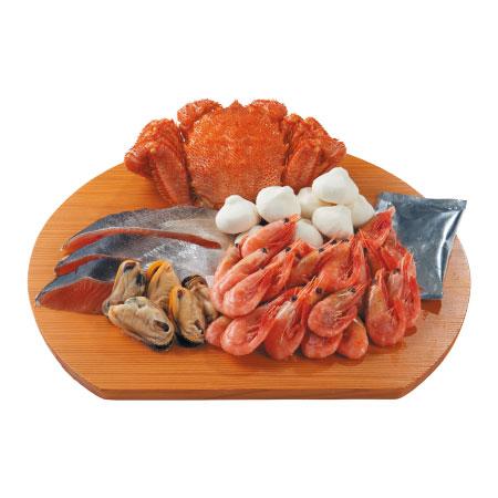 【送料無料】札幌シーフーズ 毛ガニ鍋セット たまひよSHOP・たまひよの内祝い
