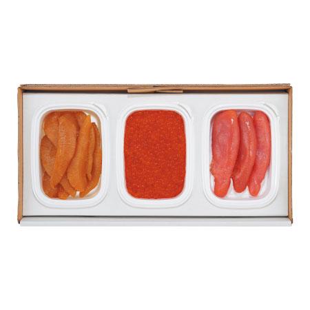 【送料無料】札幌シーフーズ いくら・数の子・たらこセット たまひよSHOP・たまひよの内祝い
