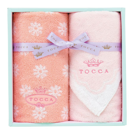 【送料無料】トッカ フィオーレ タオルセットB ピンク たまひよSHOP・たまひよの内祝い