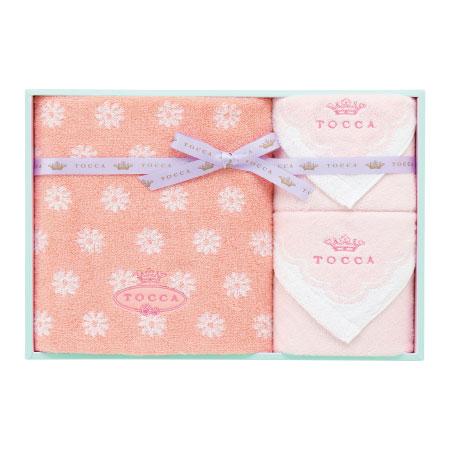 【送料無料】トッカ フィオーレ タオルセットD ピンク たまひよSHOP・たまひよの内祝い