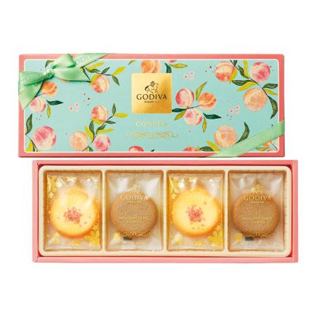 【送料無料】【期間限定】ゴディバ ピーチクッキーアソートメント 8枚入 たまひよSHOP・たまひよの内祝い