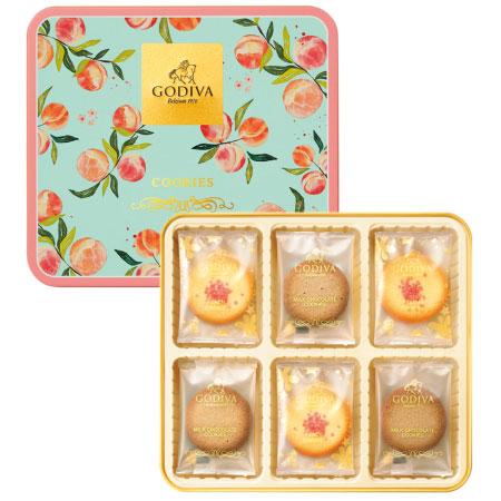 【期間限定】ゴディバ ピーチクッキーアソートメント 18枚入 たまひよSHOP・たまひよの内祝い