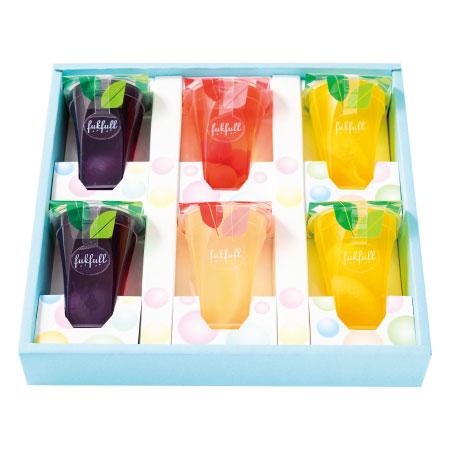 【送料無料】【期間限定】フクフル フルーツたっぷりゼリー6個 たまひよSHOP・たまひよの内祝い