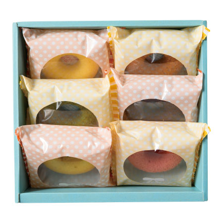 【期間限定】フォレシピ 国産小麦の焼ドーナツ6個入 たまひよSHOP・たまひよの内祝い