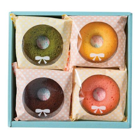 【期間限定】フォレシピ 国産小麦の焼ドーナツ8個入 たまひよSHOP・たまひよの内祝い