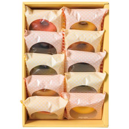 【送料無料】【期間限定】フォレシピ 国産小麦の焼ドーナツ10個入 たまひよSHOP・たまひよの内祝い