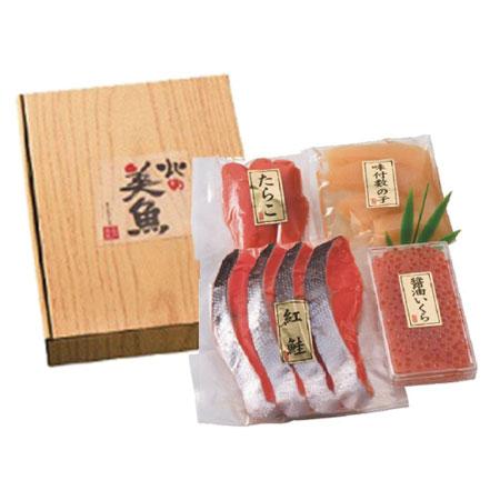 【送料無料】紅鮭&魚卵3点セット たまひよSHOP・たまひよの内祝い