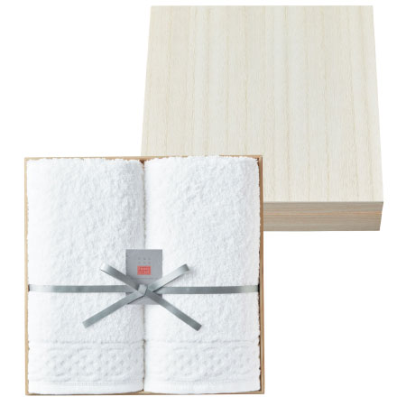 【送料無料】今治 桐箱入り空気のタオルセットE たまひよSHOP・たまひよの内祝い