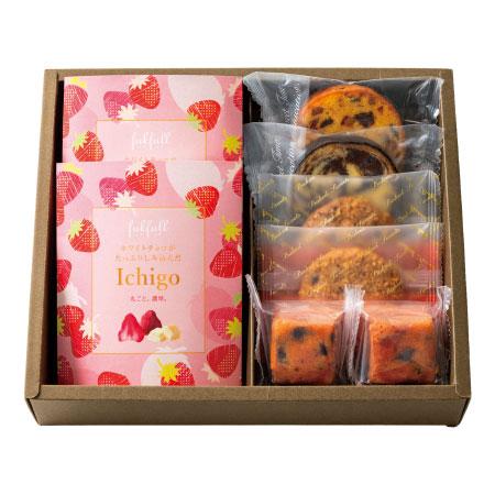 【期間限定】フクフル いちごチョコと焼菓子アソートB たまひよSHOP・たまひよの内祝い