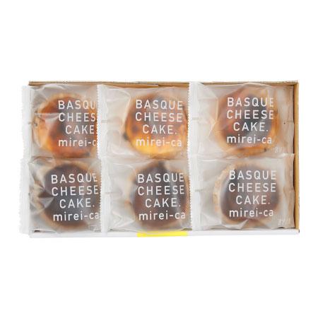 【送料無料】【期間限定】みれい菓 バスクチーズケーキアソート6個 たまひよSHOP・たまひよの内祝い