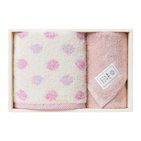 綿雪のようなタオルセットA ピンク たまひよSHOP・たまひよの内祝い
