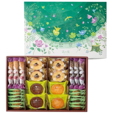 【送料無料】森の庭 森の焼き菓子 グリーンボックス たまひよSHOP・たまひよの内祝い