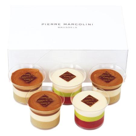【送料無料】【期間限定】ピエール マルコリーニ たまひよ限定 ショコラデザート5個 たまひよSHOP・たまひよの内祝い