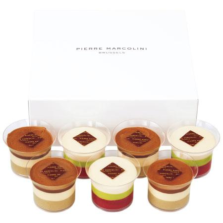 【送料無料】【期間限定】ピエール マルコリーニ たまひよ限定 ショコラデザート7個 たまひよSHOP・たまひよの内祝い