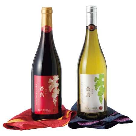 【送料無料】名入れワインカベルネソーヴィニヨン赤&シャルドネ白(風呂敷・桐箱入り) たまひよSHOP・たまひよの内祝い