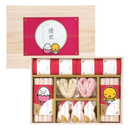 【送料無料】たまひよ名入れ紅白ハートうどん&まるもちセットA 単品 たまひよSHOP・たまひよの内祝い