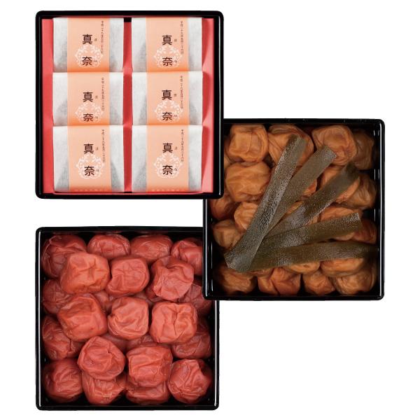 【送料無料】五代庵 名入れ紀州梅詰合せ重箱入り 単品 たまひよSHOP・たまひよの内祝い