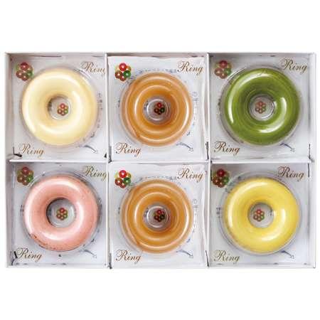 【期間限定】青山リングリング マロン味入焼きドーナツ6個 たまひよSHOP・たまひよの内祝い