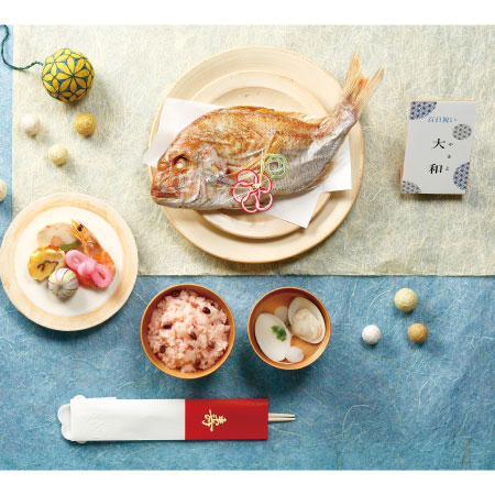 【送料無料】【アツラエ】お食い初めプチ膳 オリジナルお祝いセット名入れ立札付き 男の子 たまひよSHOP・たまひよの内祝い