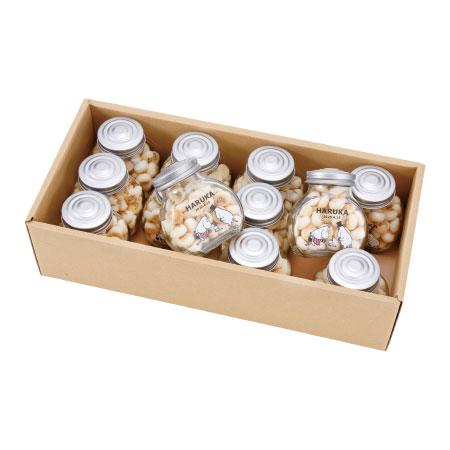 【送料無料】【アツラエ】ムーミンベビー 名入れ瓶入りボーロ 12個 たまひよSHOP・たまひよの内祝い