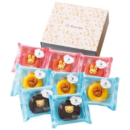 【送料無料】【アツラエ】フォレシピ 名入れ ちいさな森のドーナツ(レモン味入り) 8個 たまひよSHOP・たまひよの内祝い