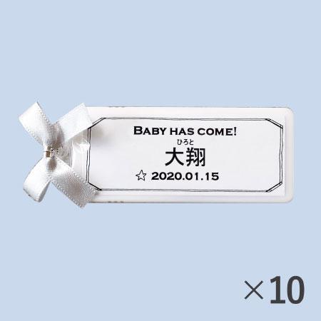 【送料無料】【アツラエ】名入れ(漢字) プチプチミント グレー 10個 たまひよSHOP・たまひよの内祝い