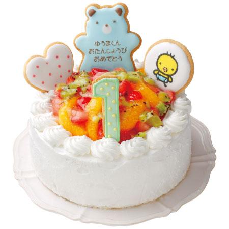 【送料無料】【アツラエ】ホシフルーツ 名入れ1歳バースデーケーキ 男の子 たまひよSHOP・たまひよの内祝い