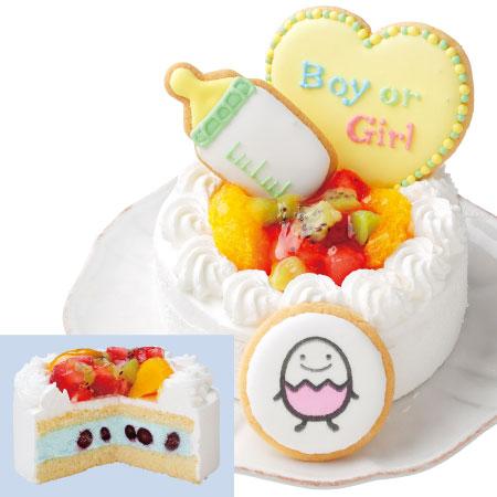 たまひよSHOP【送料無料】【アツラエ】ホシフルーツ ジェンダーリビールケーキ 男の子 たまひよSHOP・たまひよの内祝い