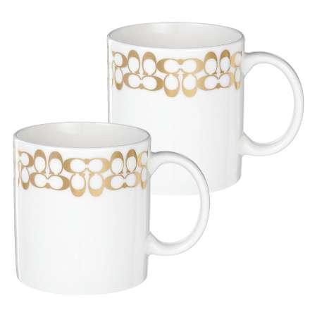 【送料無料】【結婚内祝】COACH ペアマグカップ(スモール) たまひよSHOP・たまひよの内祝い